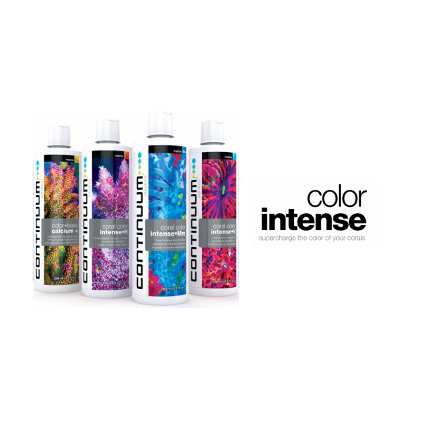 CONTINUUM CORAL COLOUR INTENSE PRODUCTS (Supercharge Your Corals)