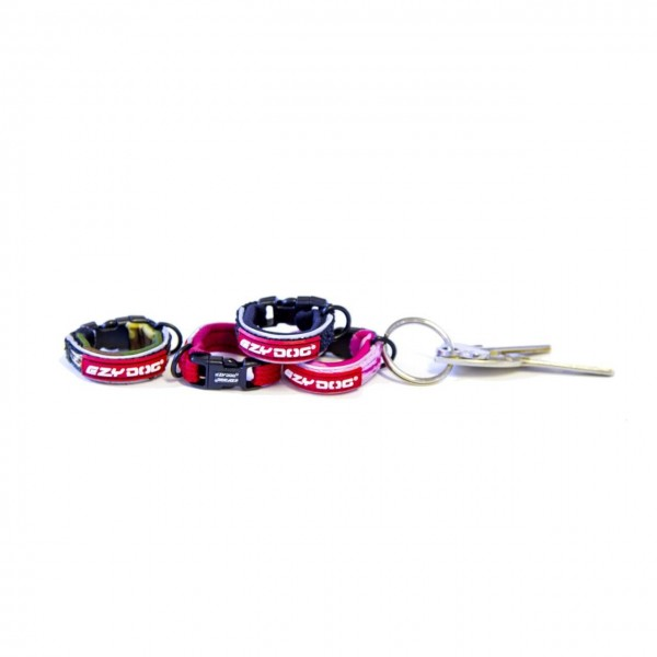 DOG COLLAR KEYRING TO MATCH OUR RANGE OF EZYDOG COLLARS AND PRODUCTS