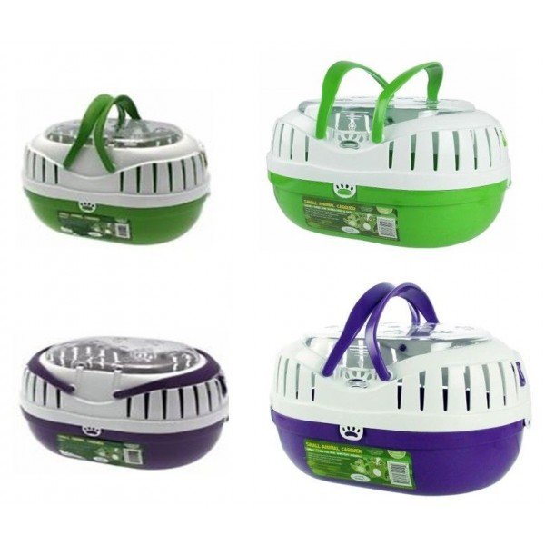 ANIMAL CARRIERS, SMALL OR LARGE SIZE travel cages for small animals.