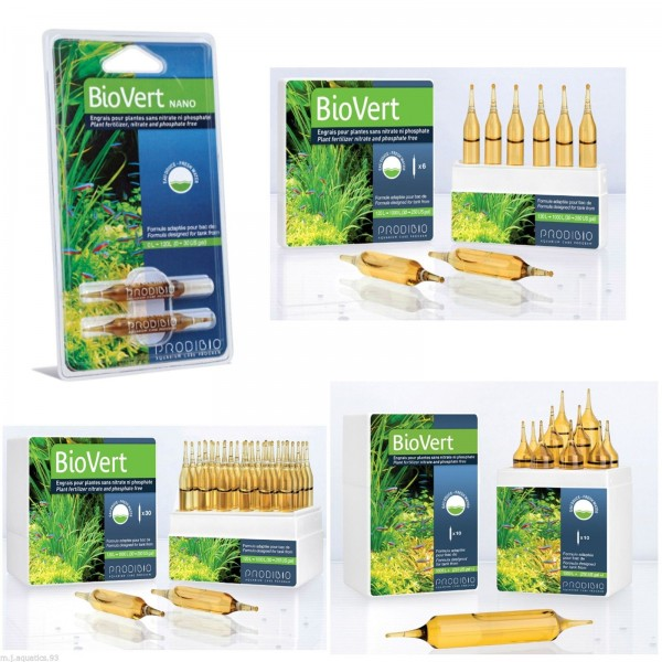 PRODIBIO-BIOVERT  PLANTED FRESHWATER TANK FEEDING KIT  (AUTHORISED  UK SELLER)