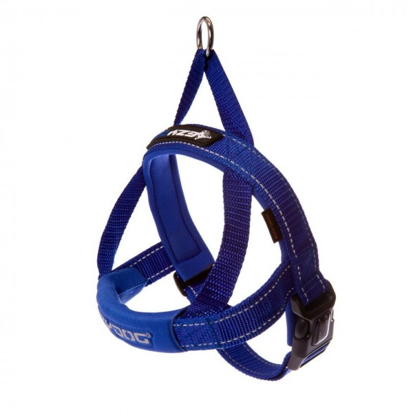 EZY-DOG QUICK FIT HARNESS HIGH QUALITY & COMFORT (Blue)