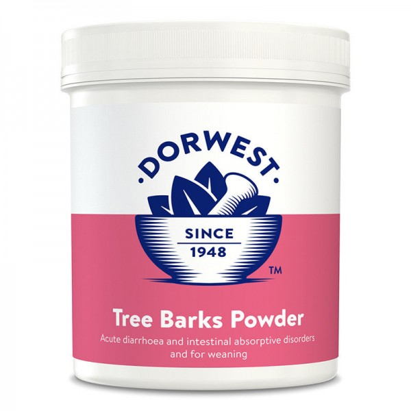 DORWEST TREE BARKS POWDER Helps digestion and Diarrhoea in Dogs and Cats