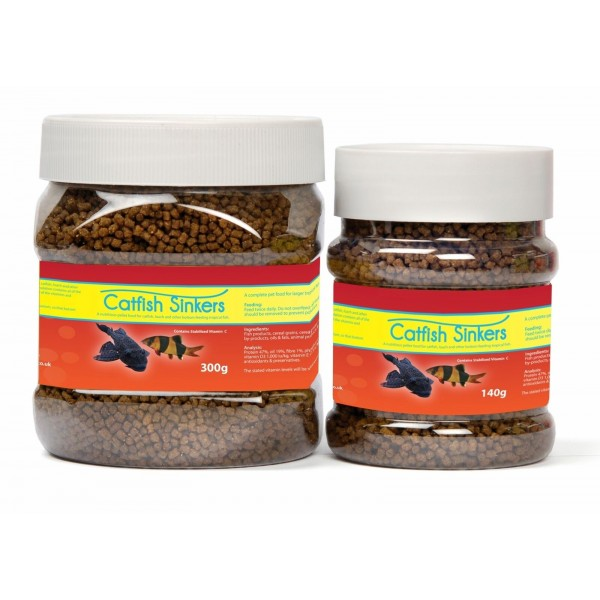 CATFISH SINKERS - Pellet Food For Catfish and other Bottom FeedingTropical Fish