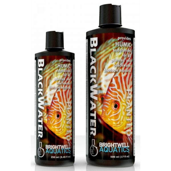 BRIGHTWELL BLACKWATER ADDITIVE FOR HUMIC PLANTED BLACKWATER BIOTOPE AQUARIUMS