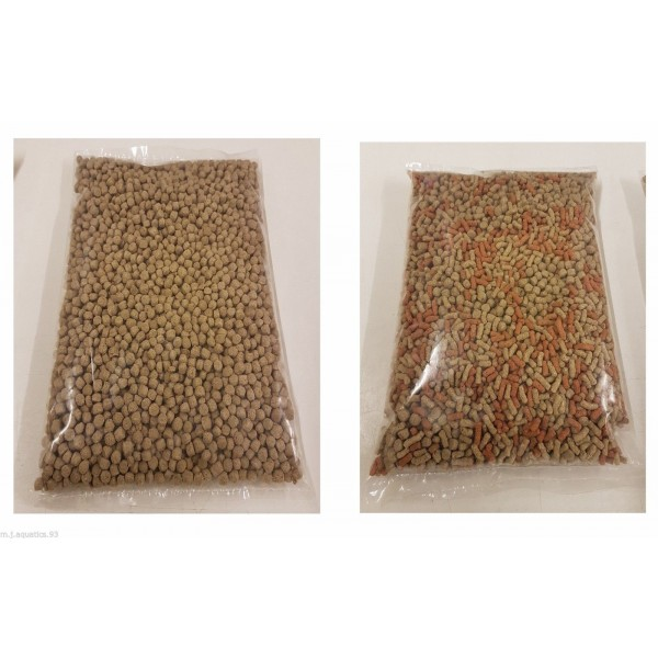 POND FISH FOOD KOI GOLDFISH STICKS OR PELLETS OR 50/50 MIX bags or Bucket