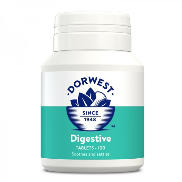 DORWEST HERBS DIGESTION SUPPLEMENT IN CATS & DOGS (Digestion & calms flatulence)