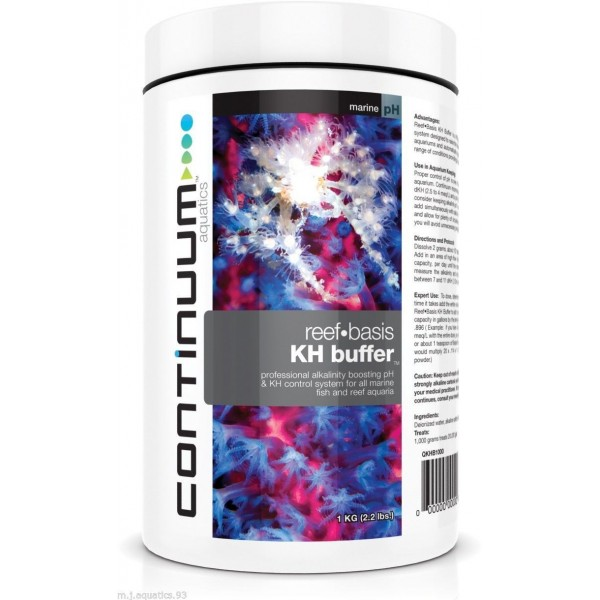 CONTINUUM KH BUFFER POWDER ADDITIVE FOR REEF AQUARIA (High Quality)
