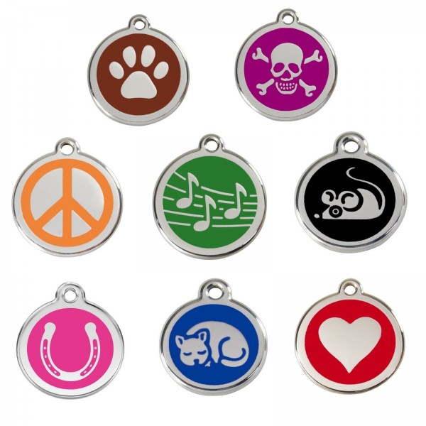 DOG / CAT TAGS - GUARANTEED FOR LIFE & ENGRAVED TO YOUR WORDING