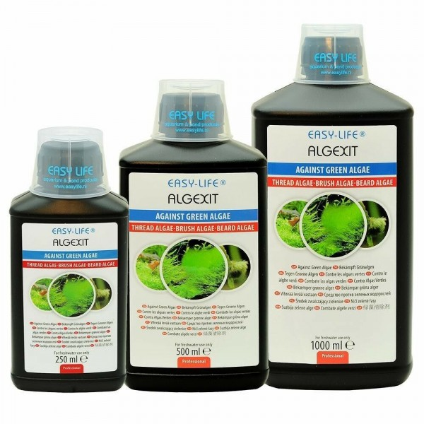 EASY LIFE  ALGEXIT  GREEN ALGAE REMOVAL & PREVENTION IN AQUARIUMS OR FISH TANKS