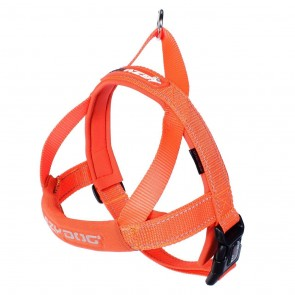 EZY-DOG QUICK FIT HARNESS HIGH QUALITY & COMFORT (Orange)