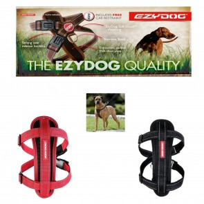 EZYDOG GIANT BREED CHESTPLATE HARNESS FOR AKITA, MASTIFF, GREAT DANE  etc