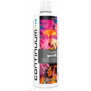 CONTINUUM BACTER GEN M MICROBIAL CULTURE For Marine Aquariums.