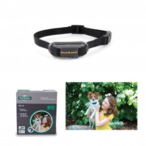 FULLY ADJUSTABLE VIBRATION BARK CONTROL DOG COLLAR  WATERPROOF By PetSafe