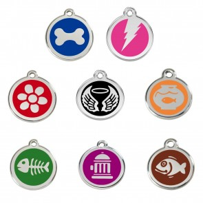 DOG / CAT TAGS - ENGRAVED TO YOUR WORDING & GUARANTEED FOR LIFE