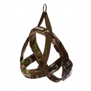 EZY-DOG QUICK FIT HARNESS HIGH QUALITY & COMFORT (Green Camouflage)
