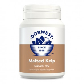 DORWEST HERBS MALTED KELP TABLETS.FOR FUSSY EATERS & ENERGY for Dogs & Cats