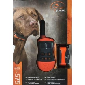 REMOTE SPORT DOG SD-575E REMOTE TRAINER TONE / STATIC TRAINING COLLAR