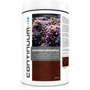 CONTINUUM EXXODUS•PHOSPHYX 1-2 years Phosphate removal in large aquariums 1000ml