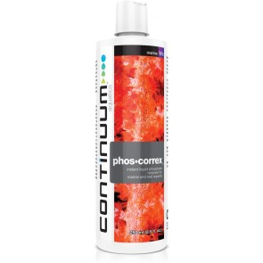 CONTINUUM PHOS-CORREX FOR ALL MARINE AND REEF AQUARIA (simple Phosphate removal)