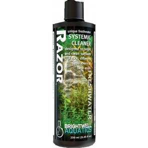 BRIGHTWELL RAZOR FRESHWATER (Systemic Cleaner kill & detach unwanted Hair Algae)