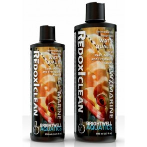 BRIGHTWELL REDOXICLEAN IMPROVES  WATER QUALITY IN SALT & FRESHWATER AQUARIUMS